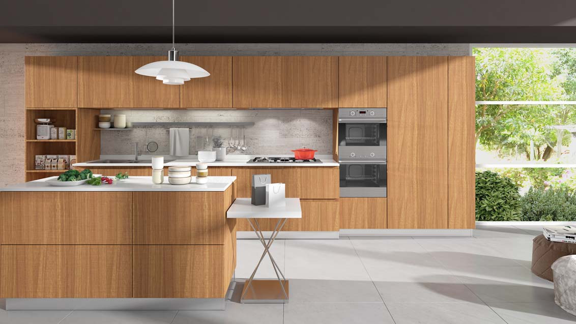 Flat Panel Kitchen Installation Examples